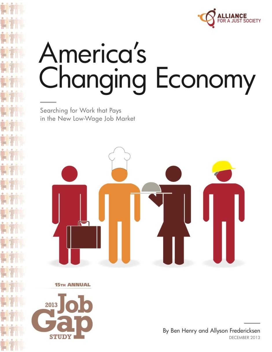 2013 Job Gap Cover